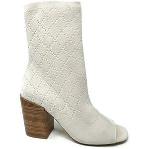 Kelsi Macey KDB Brooklyn Womens Sock Booties 9